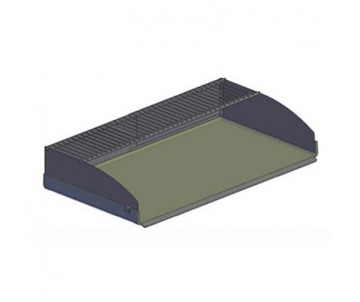 Protecteur anti-éclaboussure avec grille