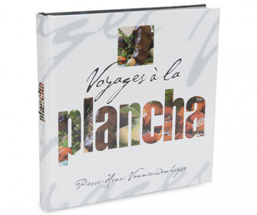 """Livre """"Voyage à la plancha"""""""